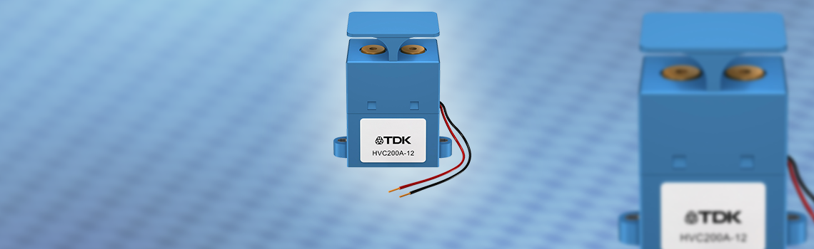 HVC series contactors from TDK