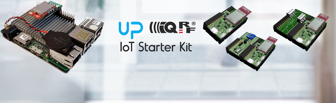 IQRF development tool IoT starter kit