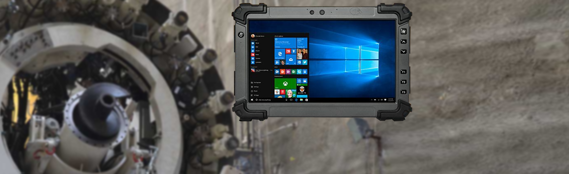 RTC-1200SK full HD rugged tablet