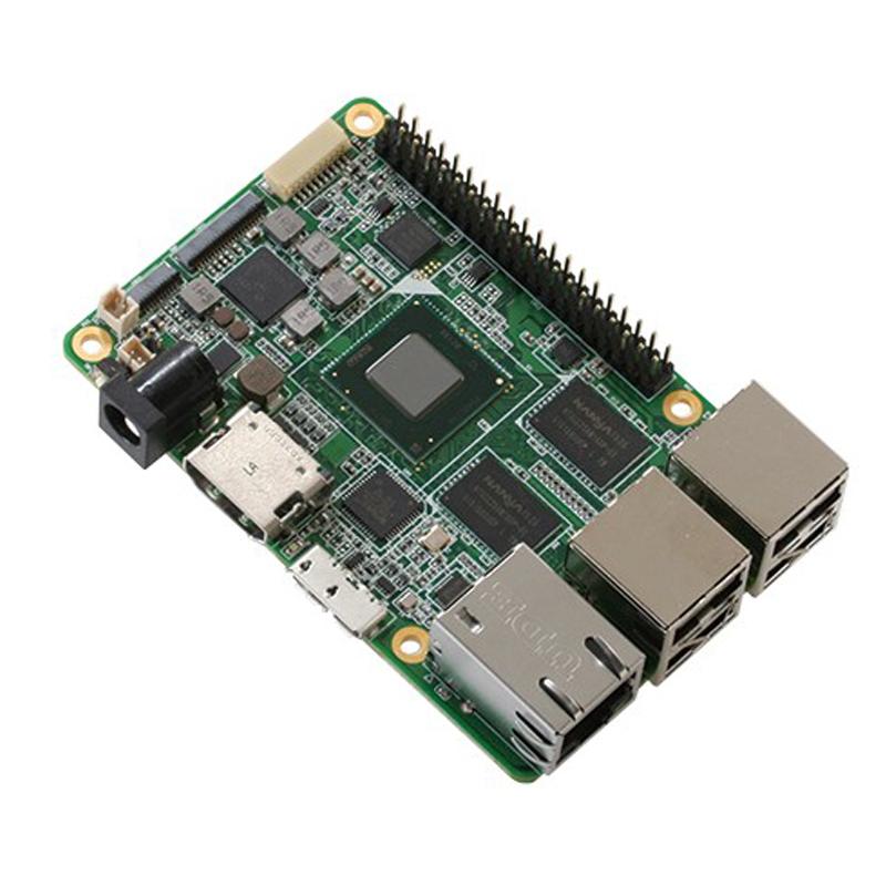 UP board x5-Z8350 with 2GB RAM & 16GB eMMC + Heatsink and RTC battery