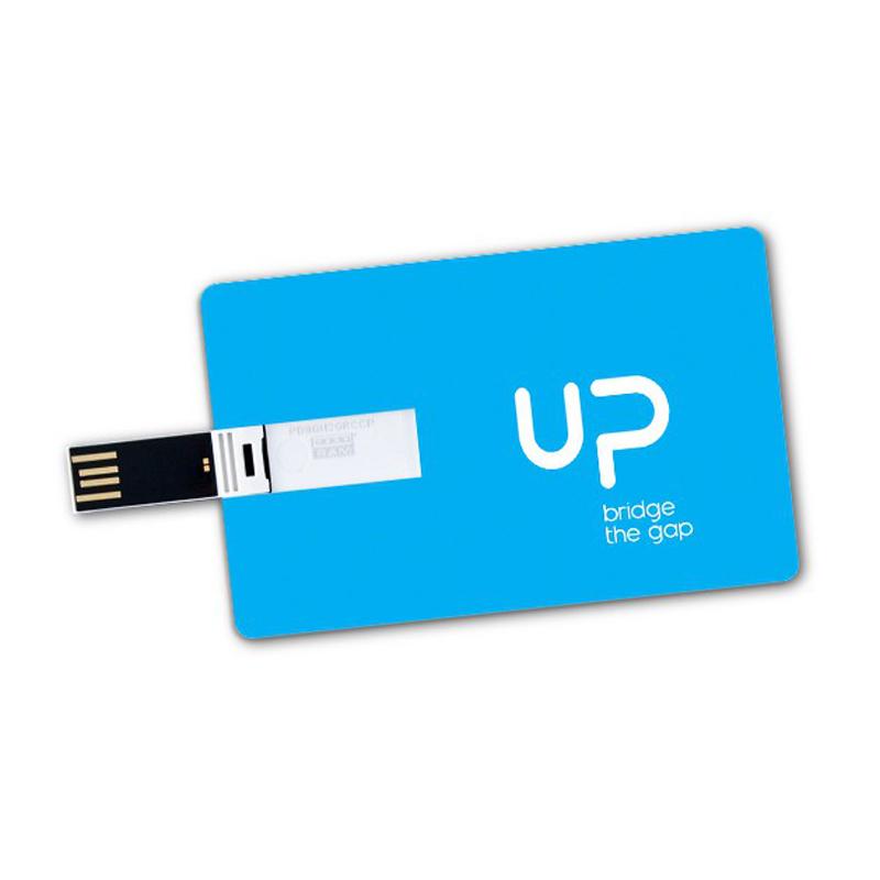 Credit card size USB drive (16 GB)