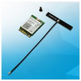 Intel Dual Band Wireless-AC 3165 card for UP², with Bluetooth 4.2 + antenna (M.2 2230)