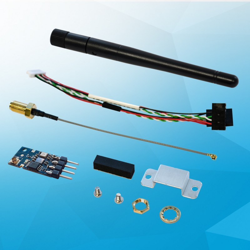 Bluetooth kit for UP (using USB2.0 pin header) with WiFi IEEE 802.11 b/g/n. 2.4GHz module, antenna + cable, USB pin-header cable
