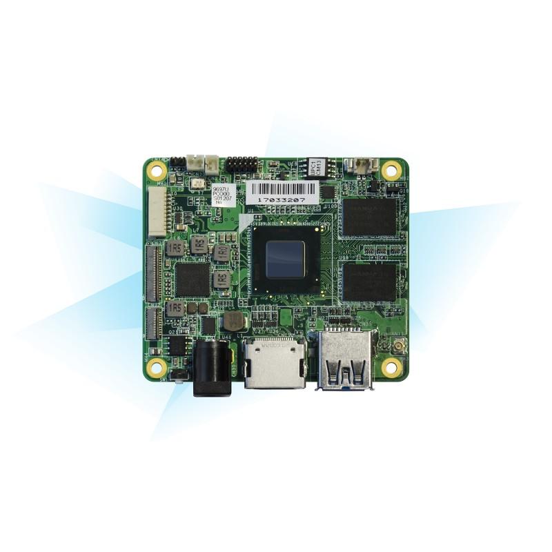 UP Core x5-Z8350 SoC, 1GB RAM+16GB eMMC, heatsink ,WiFi b/g/n + BT4.2, expected in Dec. 2017