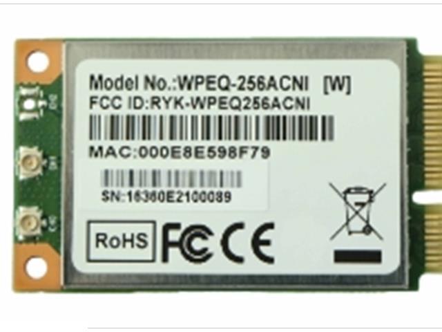 WPEQ-256ACNI - SPARKLAN - 802 11ac/b/g/n dual band 2x2 m-PCI
