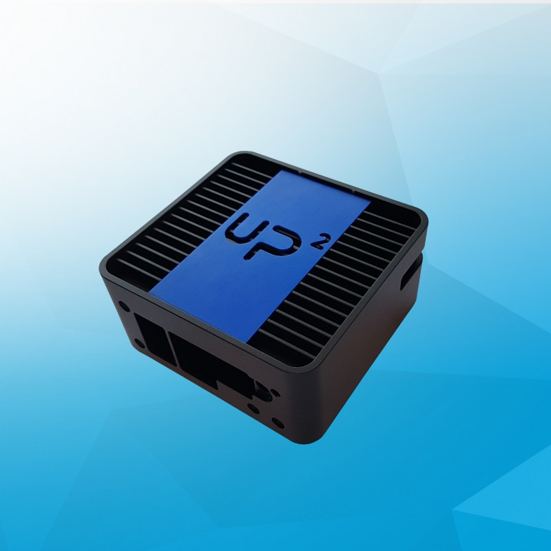 Fanless chassis with VESA mount for UP Squared