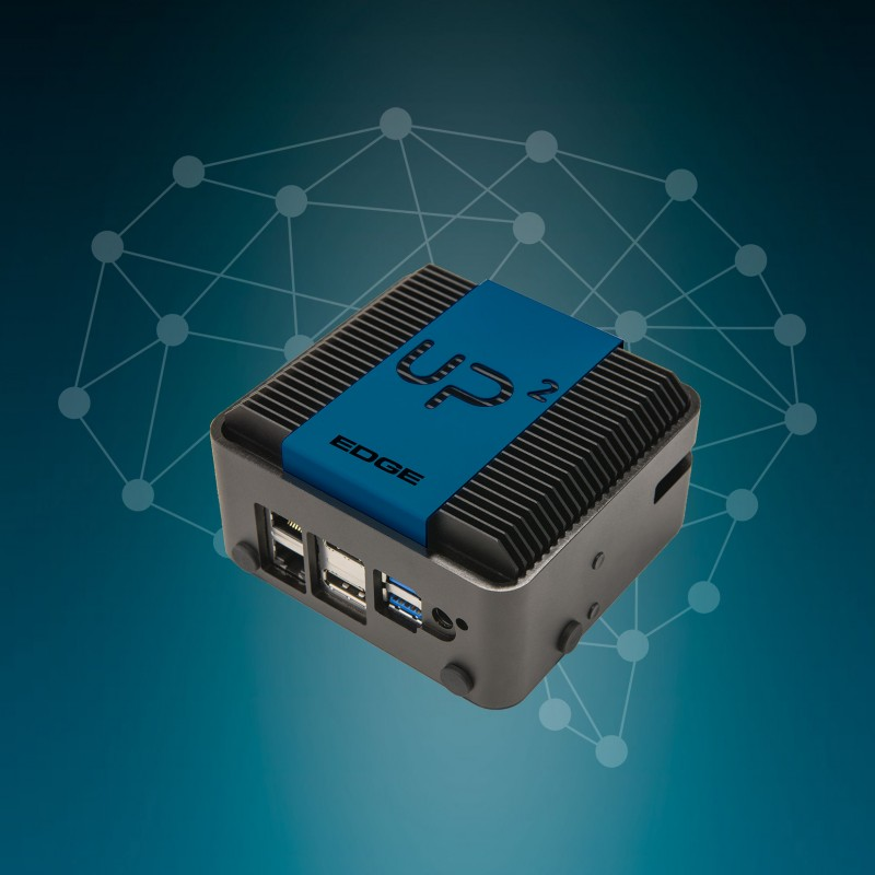 UP Squared Edge System powered by Intel x7-E3950 SoC, 8GB RAM, 64GB eMMC, Ubuntu