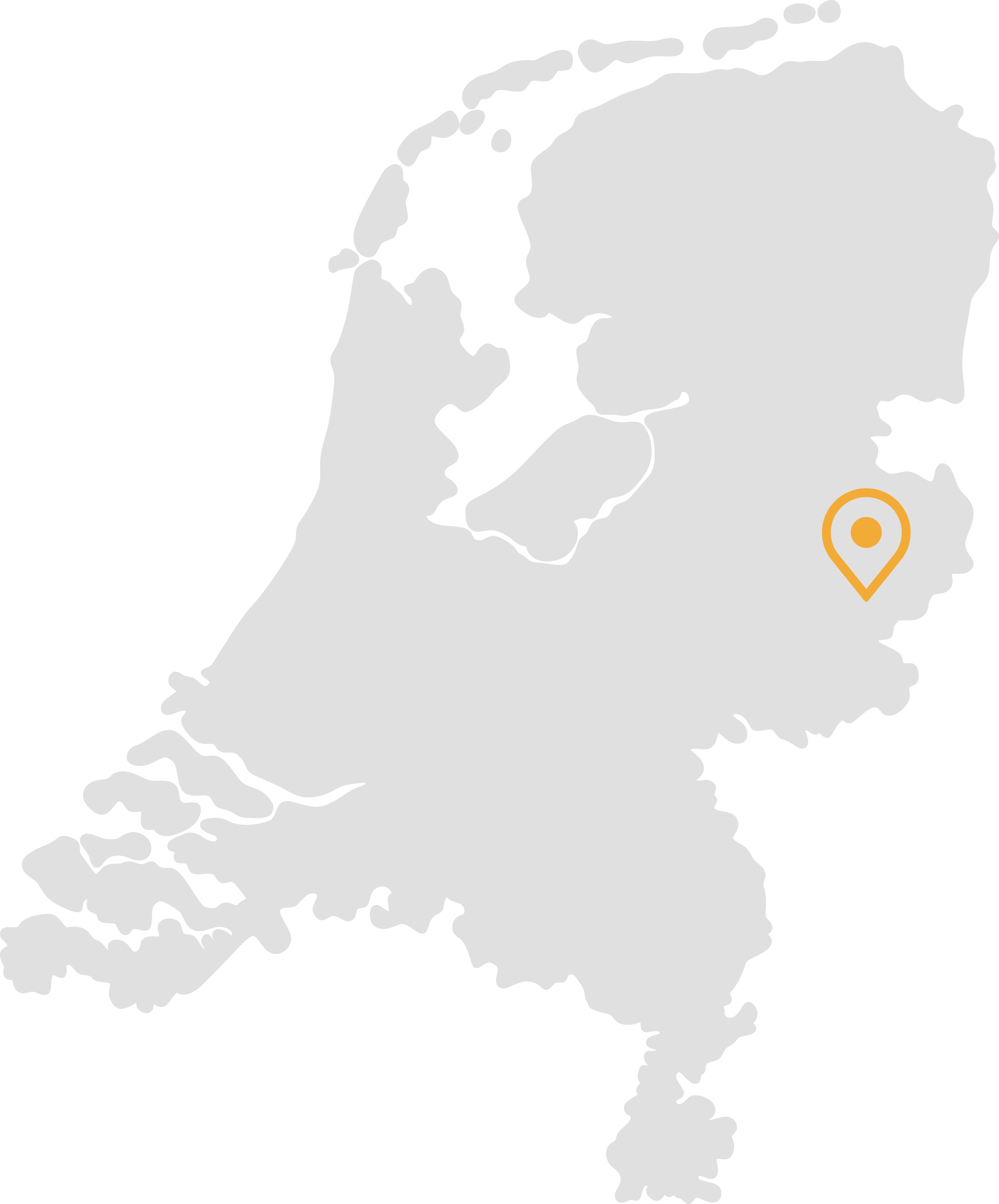contact the office in The Netherlands